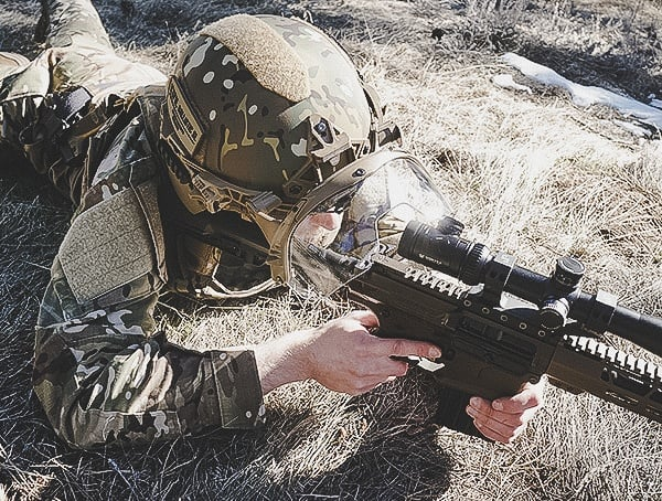 Comfortable Fit Team Wendy Exfil Ballistic Sl Helmet Review With Rifle Scope