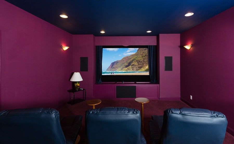 Home Theater Seating Interior Design