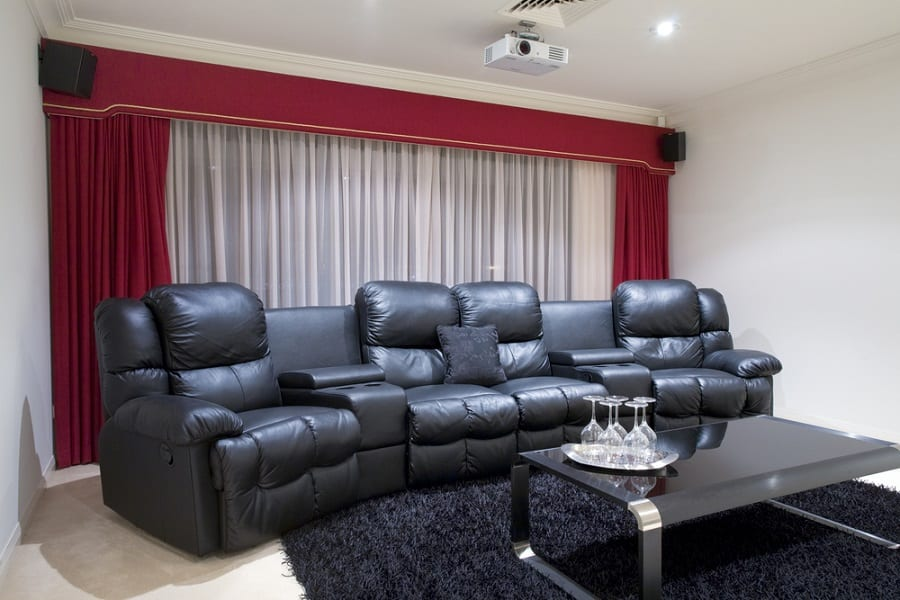 Home Theater Seating Interior Ideas
