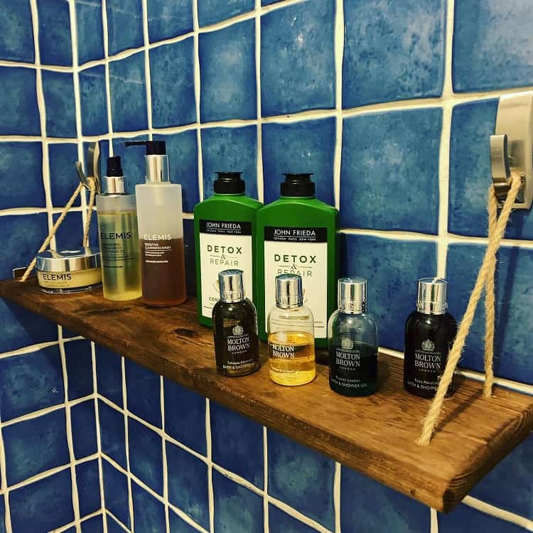 Command Hooks Tray Diy Bathroom Shelf Goshc
