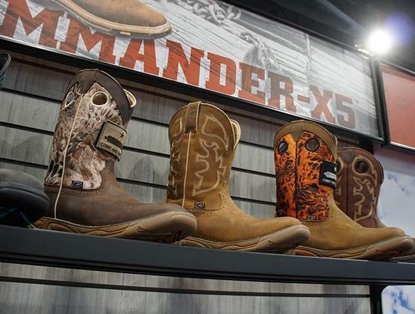 Commander X5 Mens Justin Cowboy Boots