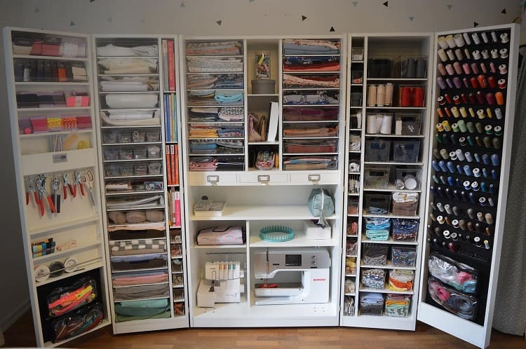Compact Cabinet Craft Room