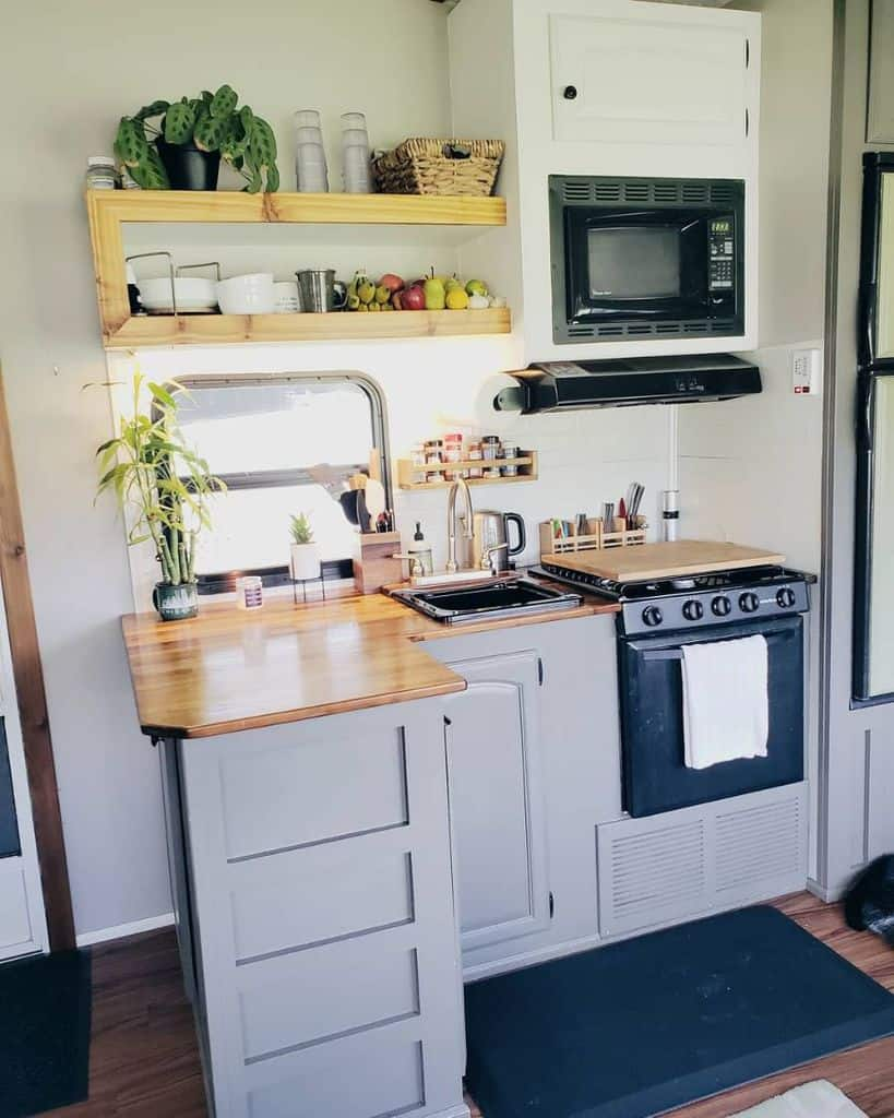 compact kitchenette ideas rvsandtrees