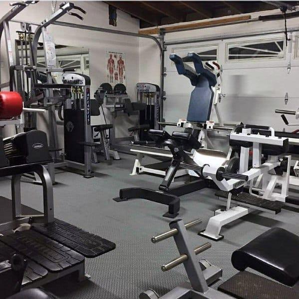 Complete Garage Gym Ideas