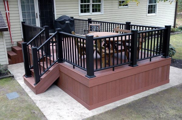 Composite Design Ideas Deck Skirting