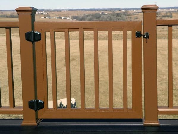 Composite House Deck Gate Ideas