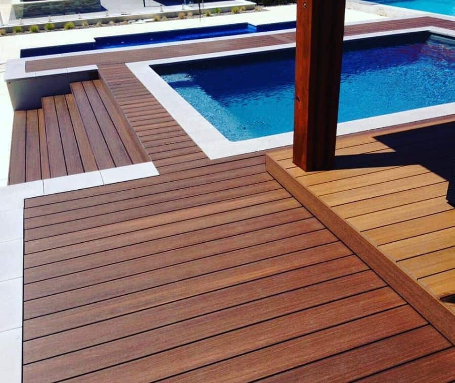 Composite Material Pool Deck Ideas Liberatosciolicasa
