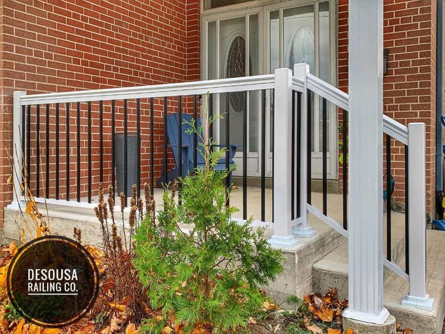 Composite Porch Railing Ideas Desousarailingco
