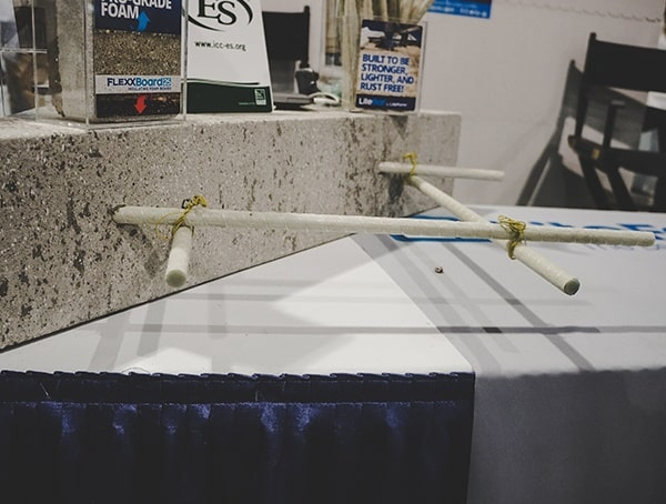 Composite Replacement For Steel Rebar Nahb 2019 Show