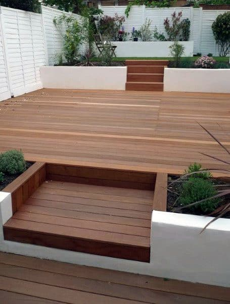 Composite Wood 0modern Deck Home Designs