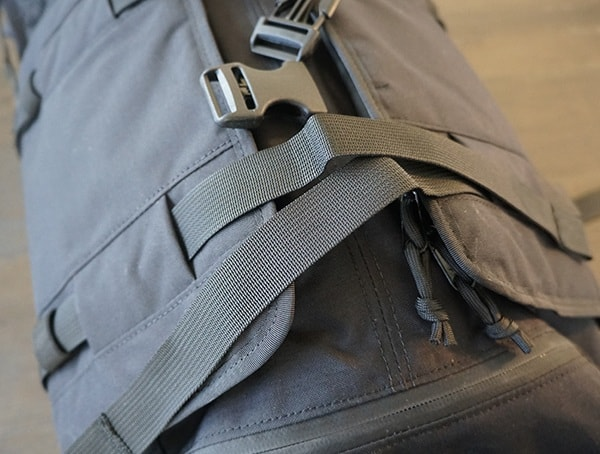 Compression Straps With Removed Plastic Buckles Mission Workshop The Rhake