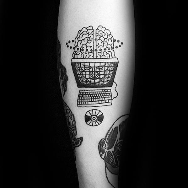 Computer Mens Tattoo Ideas