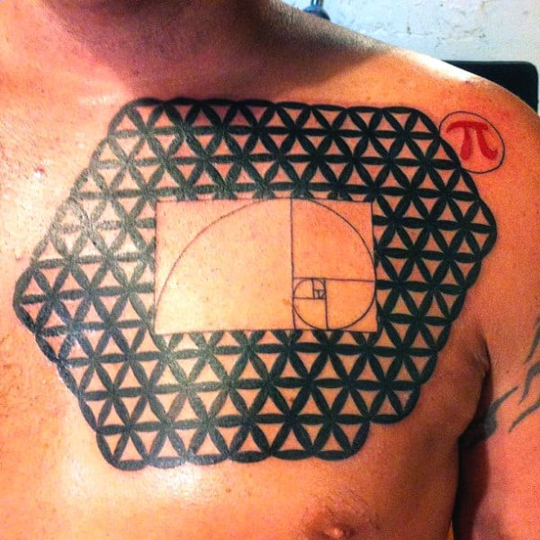 Computer Science Tattoos For Men With Pi