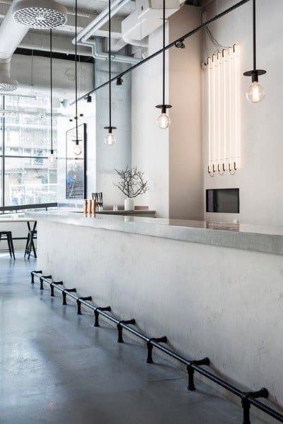 Concrete Designs Bar Top Ideas