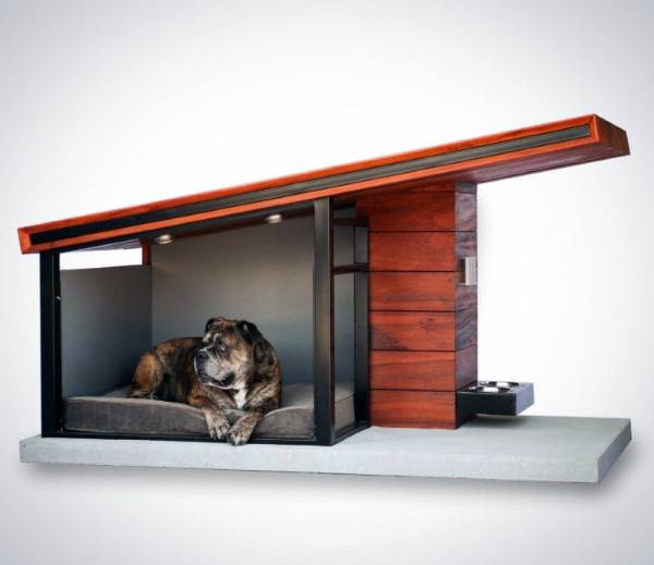 Concrete Dog House Designs Contemporary Shed Roof