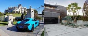 Top 50 Best Concrete Driveway Ideas – Front Yard Exterior Designs