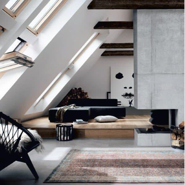 Concrete Fireplace Ideas
