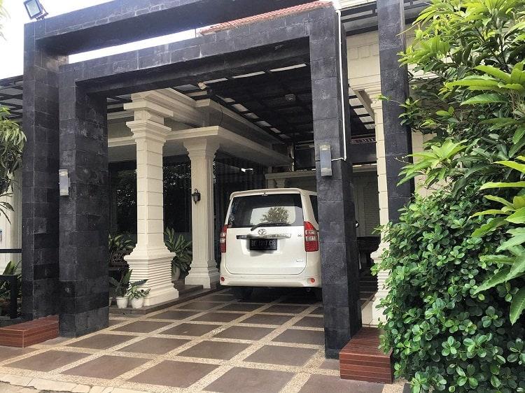 Concrete Modern Carport Si Bunbun Tietien