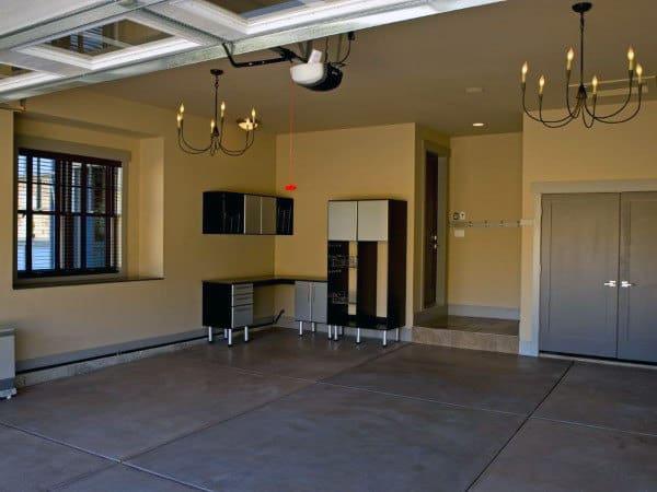 Concrete Natural Looking Garage Floor Coating