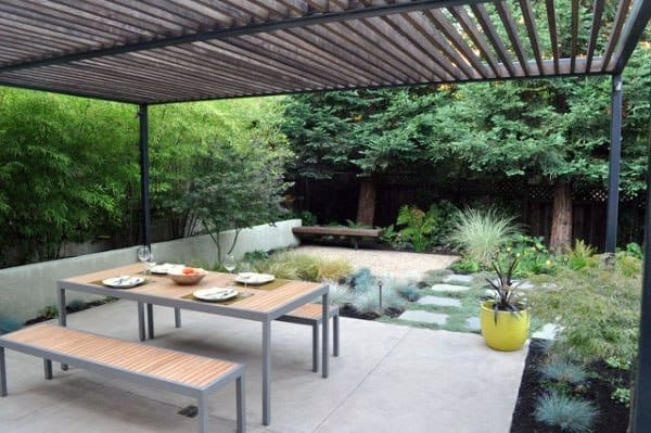 Concrete Patio Finishes Ideas