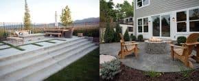 60 Concrete Patio Ideas – Unique Backyard Retreats