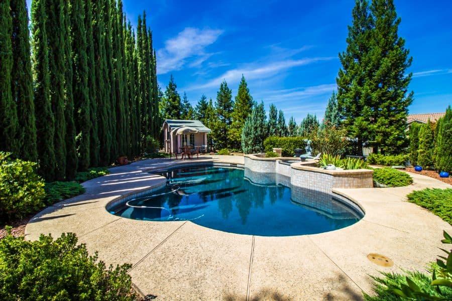 Concrete Pool Deck Ideas 13