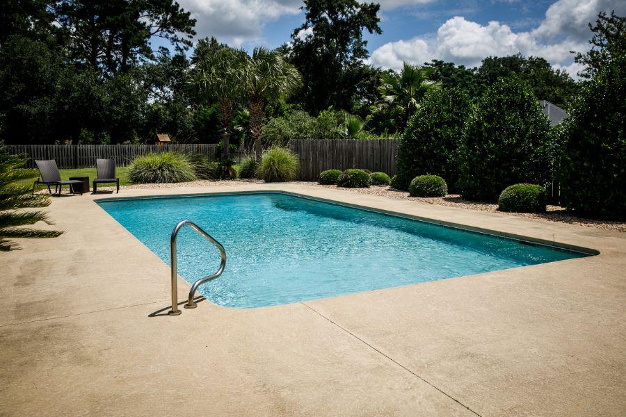 Concrete Pool Deck Ideas 2