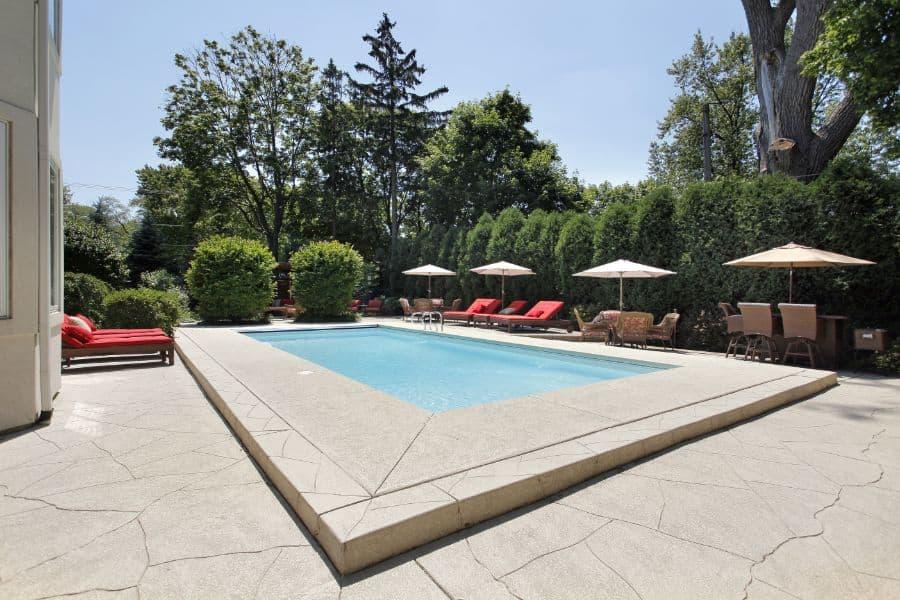 Concrete Pool Deck Ideas 3