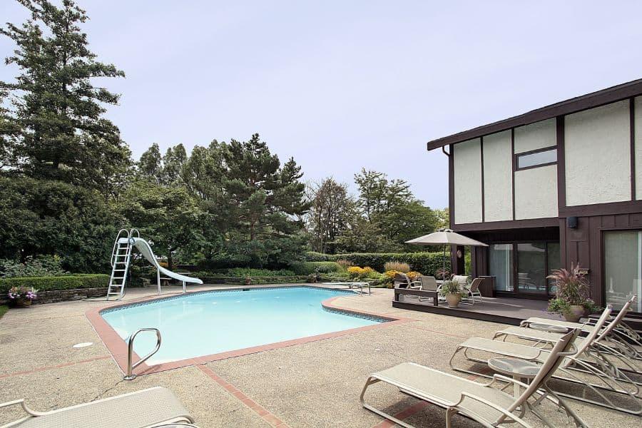 Concrete Pool Deck Ideas 8