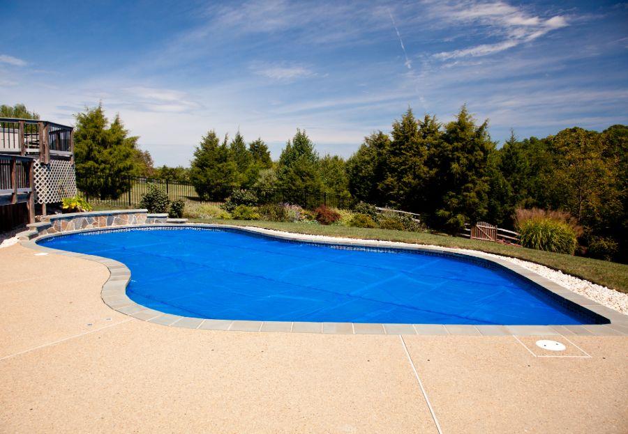 Concrete Pool Deck Ideas 9