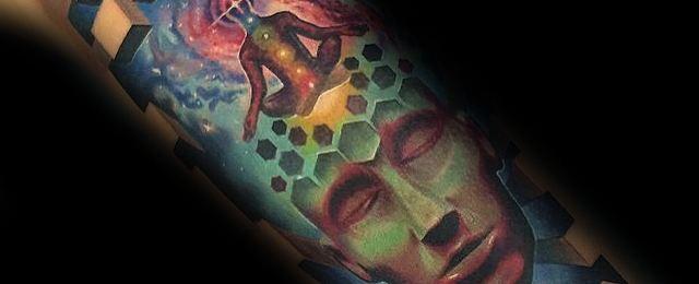 Consciousness Tattoo Designs For Men