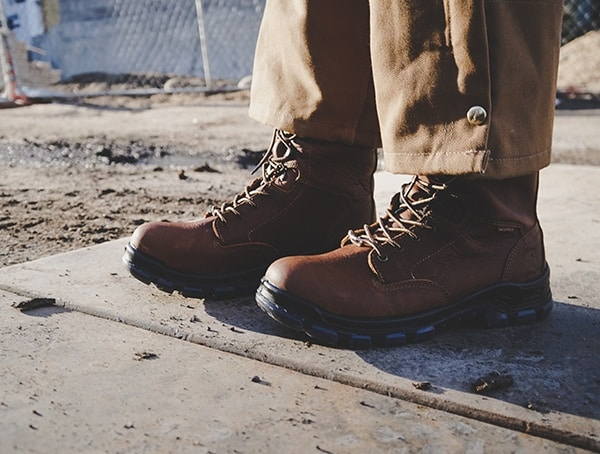 Construction Footwear Review Mens Carhartt Made In The Usa 8 Inch Composite Toe Work Boots
