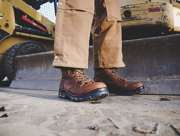 Construction Mens Leather Carhartt American Made 8 Inch Composite Toe Work Boots Review