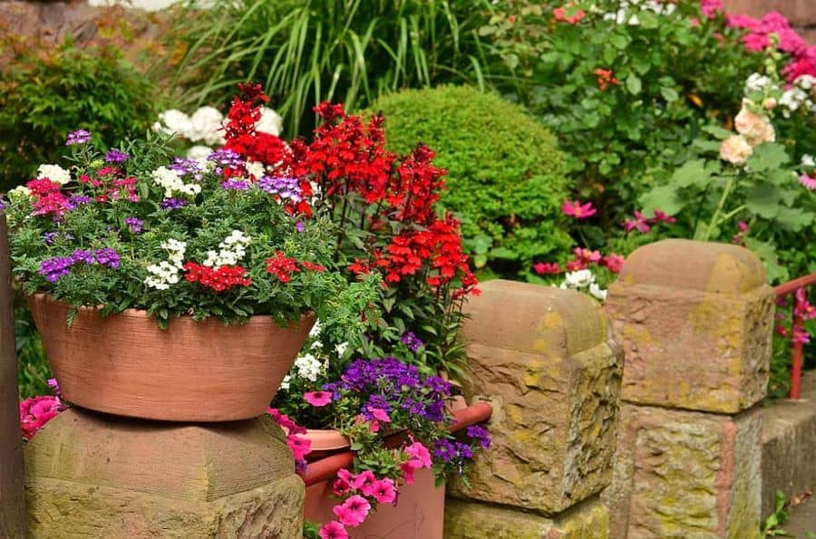 container garden 1 flower bed ideas