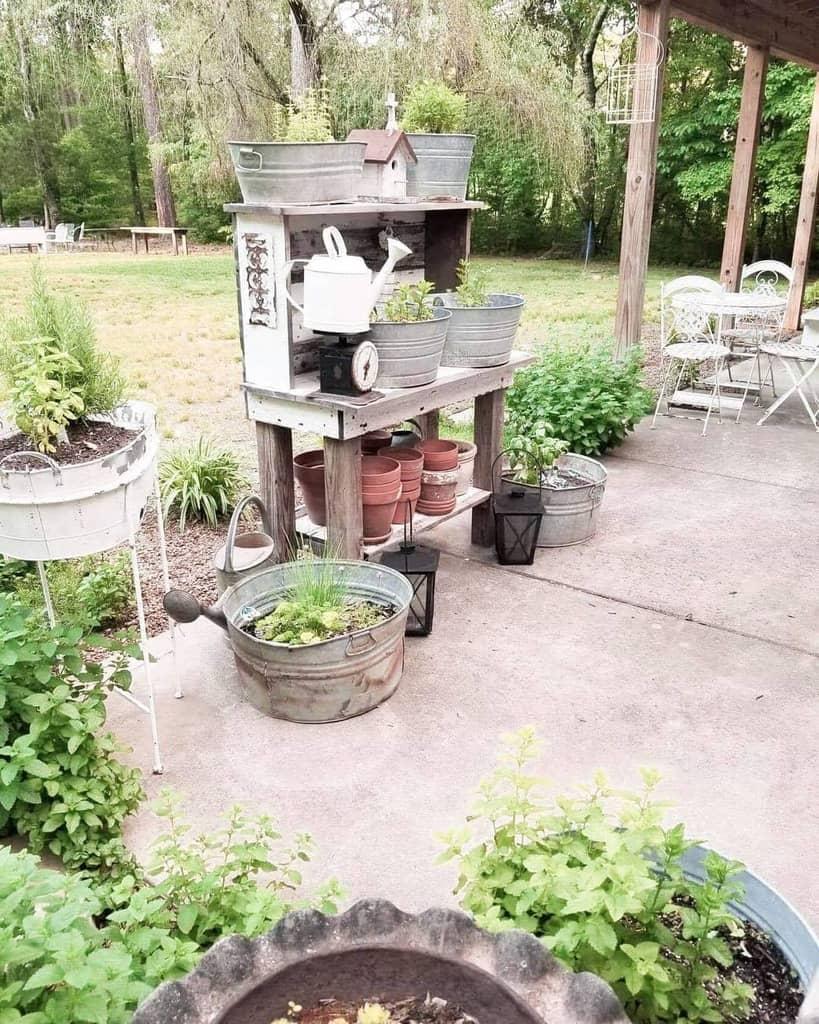 container herb garden herb garden ideas amybkinser