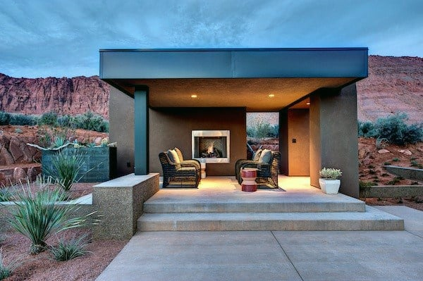 Contemporary Backyard Pavilion Ideas