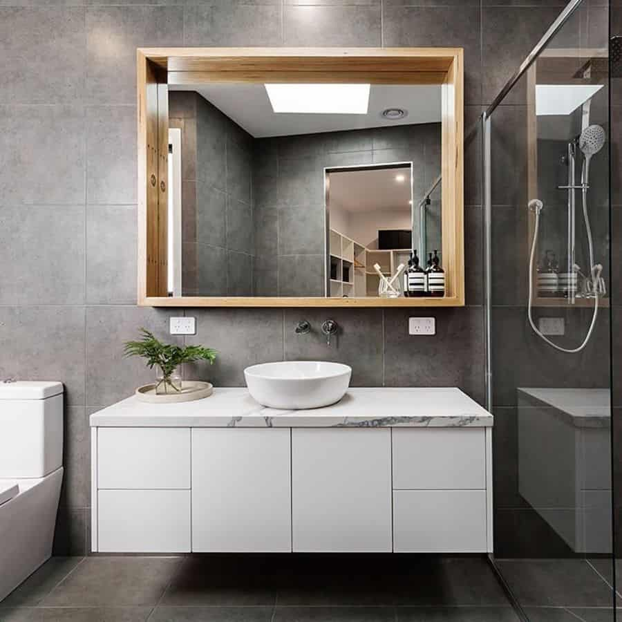 Contemporary Basement Bathroom Basementbuilderuk