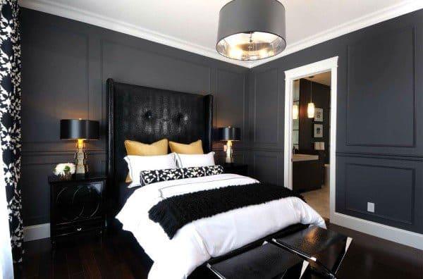 Contemporary Black Bedroom Ideas
