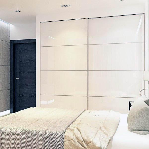 Contemporary Closet Door Ideas For Small Space