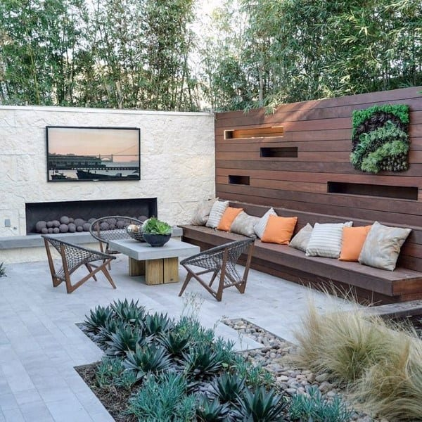 Contemporary Cool Backyards