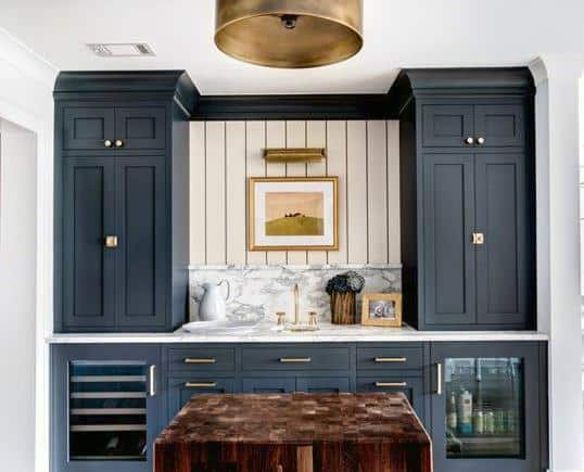 Contemporary Cool Wet Bar Ideas