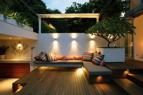 Contemporary Designs For Deck Lighting Wall Sconces
