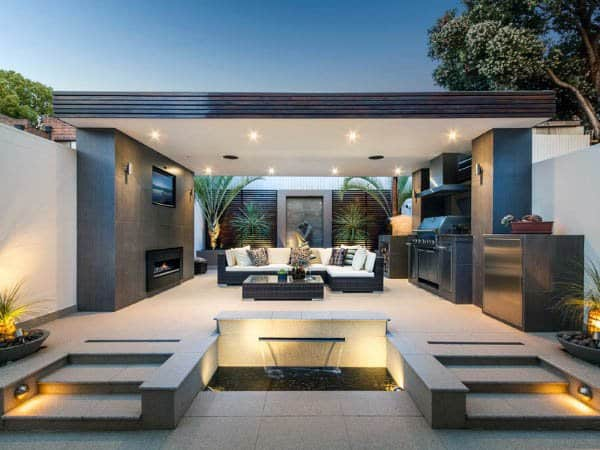 Contemporary Designs Outdoor Kitchen Ideas