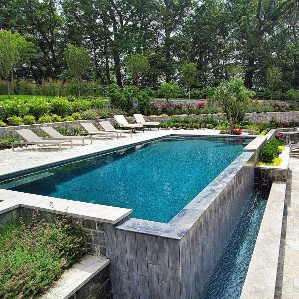Contemporary Designs Pool Landscaping