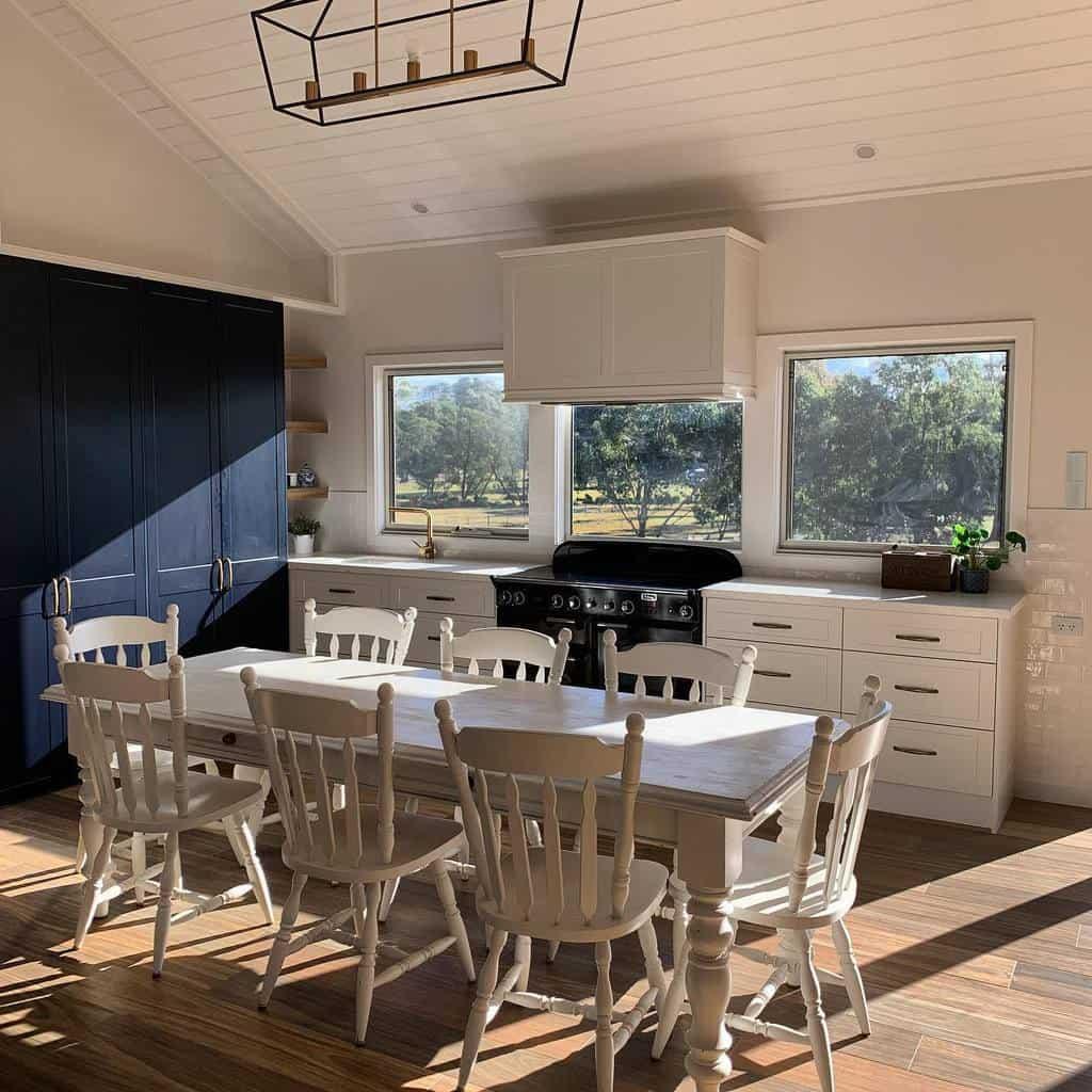 contemporary dining room ideas ourmodernfarmhousebuild