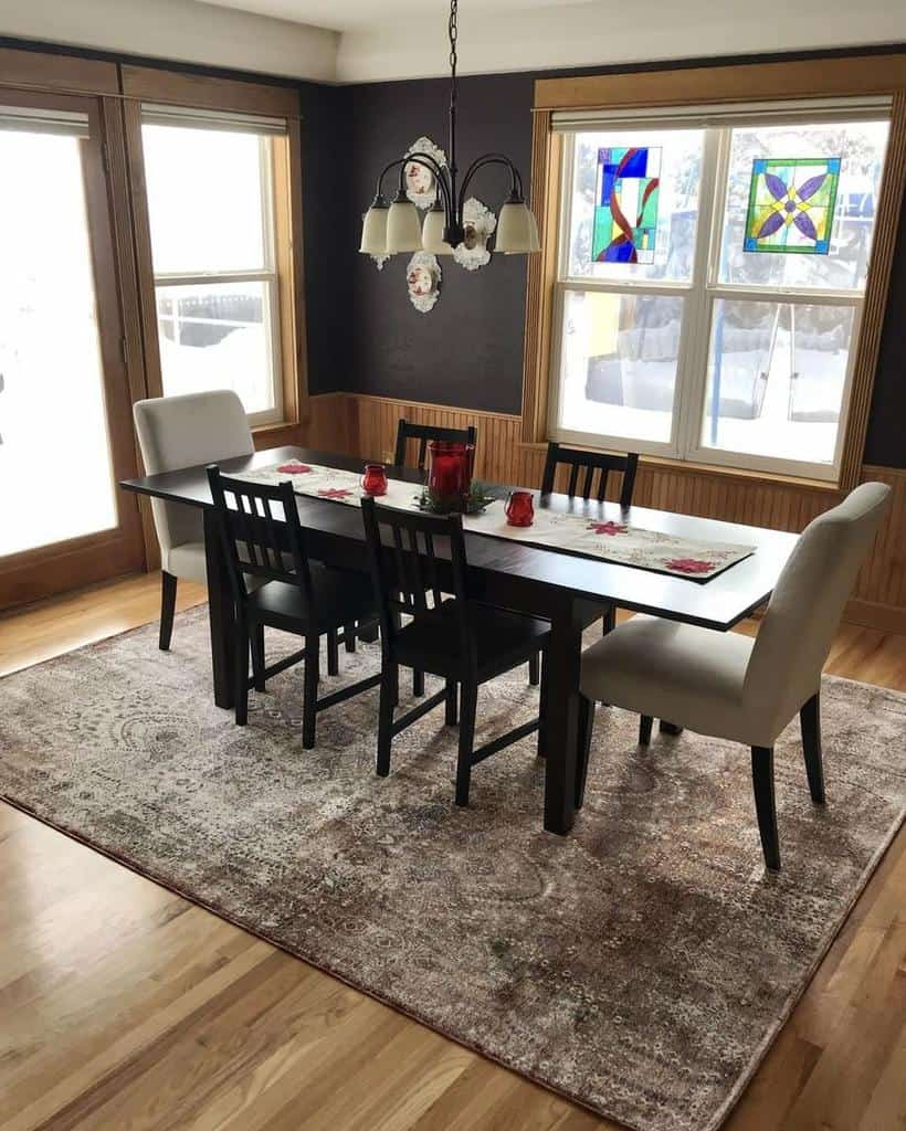 contemporary dining room ideas therugtruck