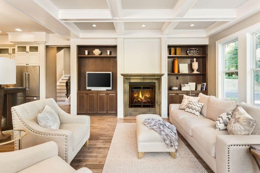 Contemporary Family Room Ideas 1