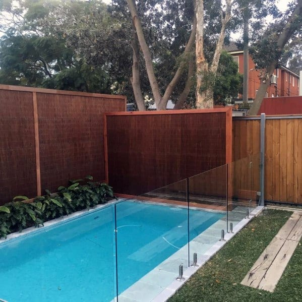 Contemporary Glass Panel Pool Fence Ideas