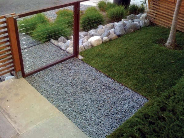 Contemporary Gravel Landscaping Spectacular Ideas