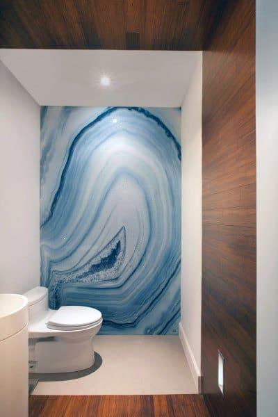 Contemporary Half Bath Idea
